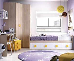 Cooles Jugendzimmer Fur Jungen Madchen Eckschrank Bett 22
