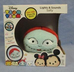 2016-Just-Play-Disney-Tsum-Tsum-Lights-amp-Sounds-Sally-W-Light-Up-Cheeks-NEW