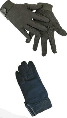 Handschuhe Reithandschuhe  Schwarz  XXS bis XXL  100/% Baumwolle Neu