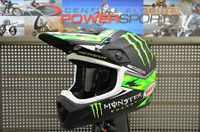 New Bell MX-9 Pro Circuit Monster Motocross MX Helmet with MIPS-Adult-Medium