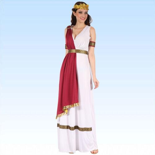 Edles Kostüm Römerin Größe 38-42 Antike Römerinkostüm Rom 5 teilig Damenkostüm