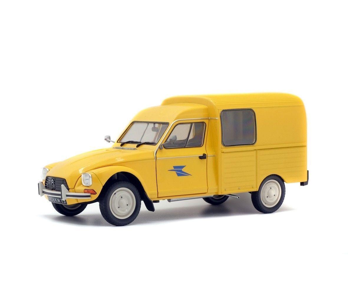 """Norev 310805 Citroen HY /""""PTT/"""" gelb Maßstab 1:64  Modellauto NEU!°"""