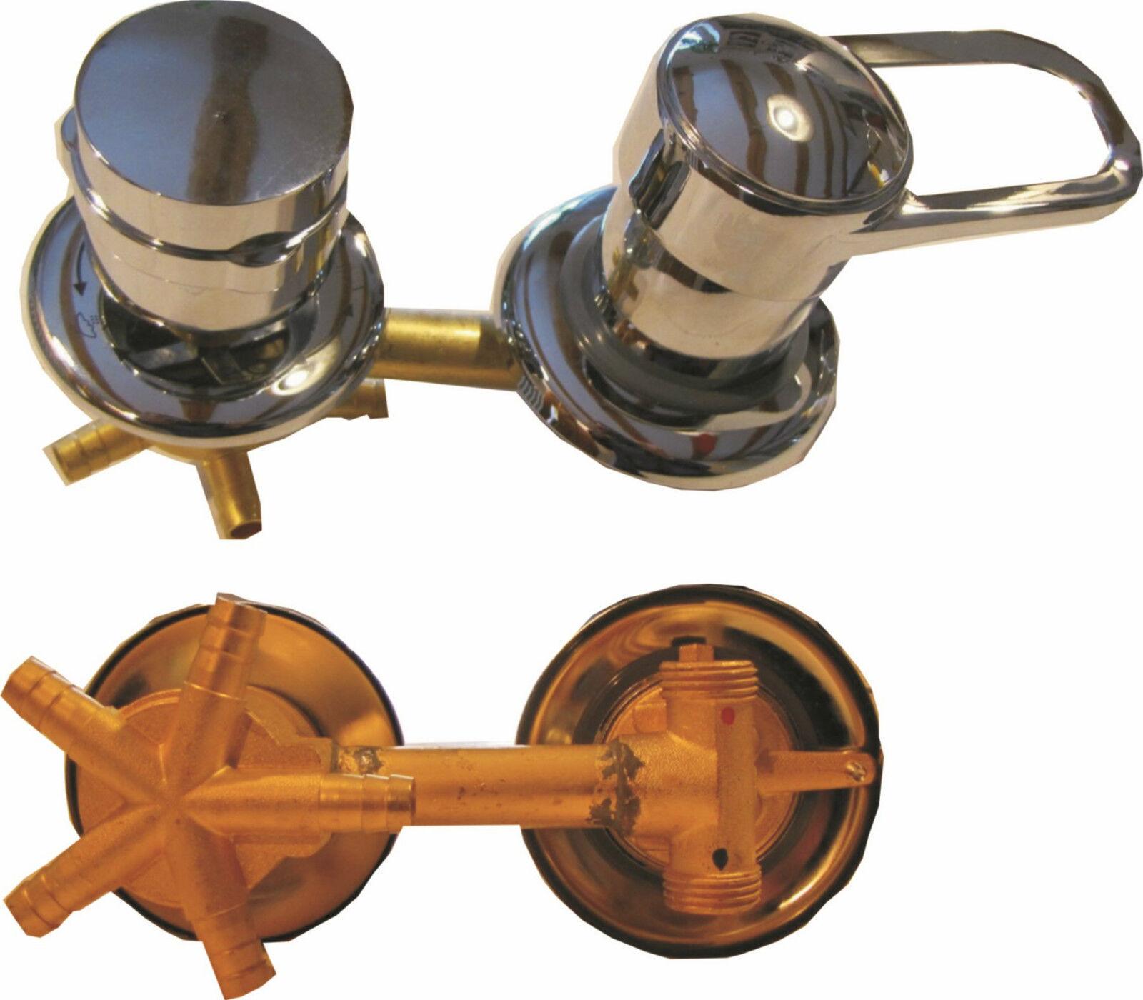 Rubinetto Miscelatore con Deviatore a 5-Vie per doccia e pannelli