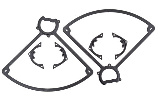 Plastic 2 Screws Black Vista // Ominus RPM 72102 Two Rear Prop Guards