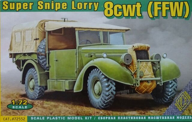 ACE #72552 Super Snipe Lorry 8CWT (FFW) in 1:72