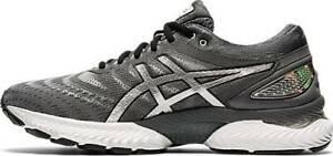 ASICS Hommes Chaussures Course Athlétique Entraînement Gel Nimbus 22 Platine