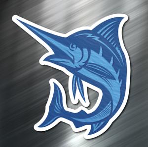 "Marlin love 6/"" STICKER *F211* DECAL blue marlin deep sea boat fishing salt water"