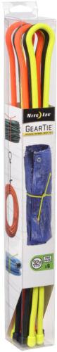 """Nite Ize Tough Rubber Gear Tie Pack Pro 32/"""" pouces assorties Pack de 6 gtpp 32-A1-R8"""