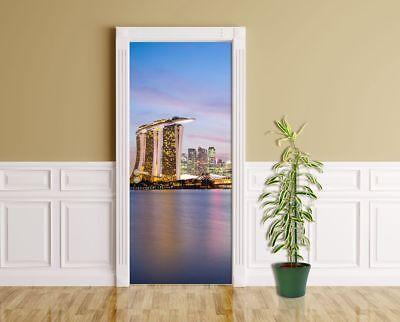 Singapur Türaufkleber Skyline Ii