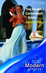 The Sheikh's Convenient Bride (Modern Romance) by Marton, Sandra Paperback Book