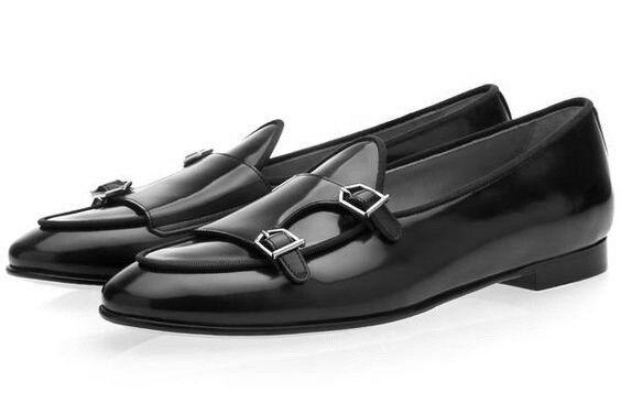 Da Uomo Classic Leather pompe con Stile lusso Monaco, gli uomini di lusso Stile Scarpe, Uomini Scarpe Eleganti 2bc436