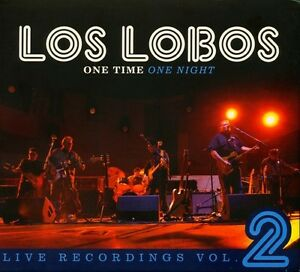 Los-Lobos-One-Time-One-Night-Live-Recordings-2-New-CD-Digipack-Packaging