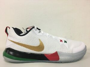 Details about Nike Zoom Live II BHM Black History Month Red Green White AQ9580 100 Size 13.5