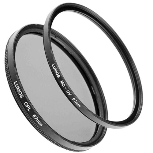 67mm Polfilter MC UV Filter Set passt zu Nikon Coolpix P900 LUMOS Kamera Zubehör