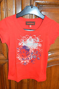 MAGNIFIQUE-TEE-SHIRT-FILLE-NEUF-MARQUE-034-CATIMINI-034-TAILLE-4-ans