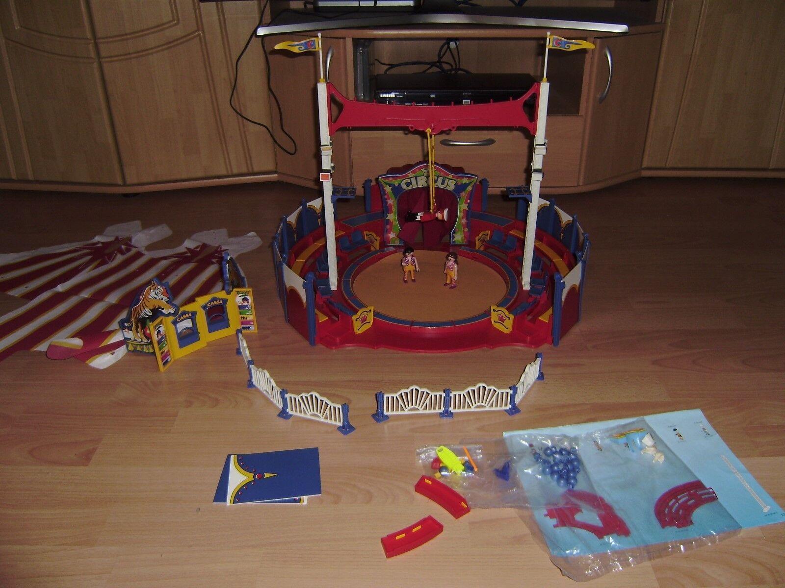 Playmobil 4230 - großes Zirkuszelt mit LED Portal - Zirkus in OVP und Anleitung