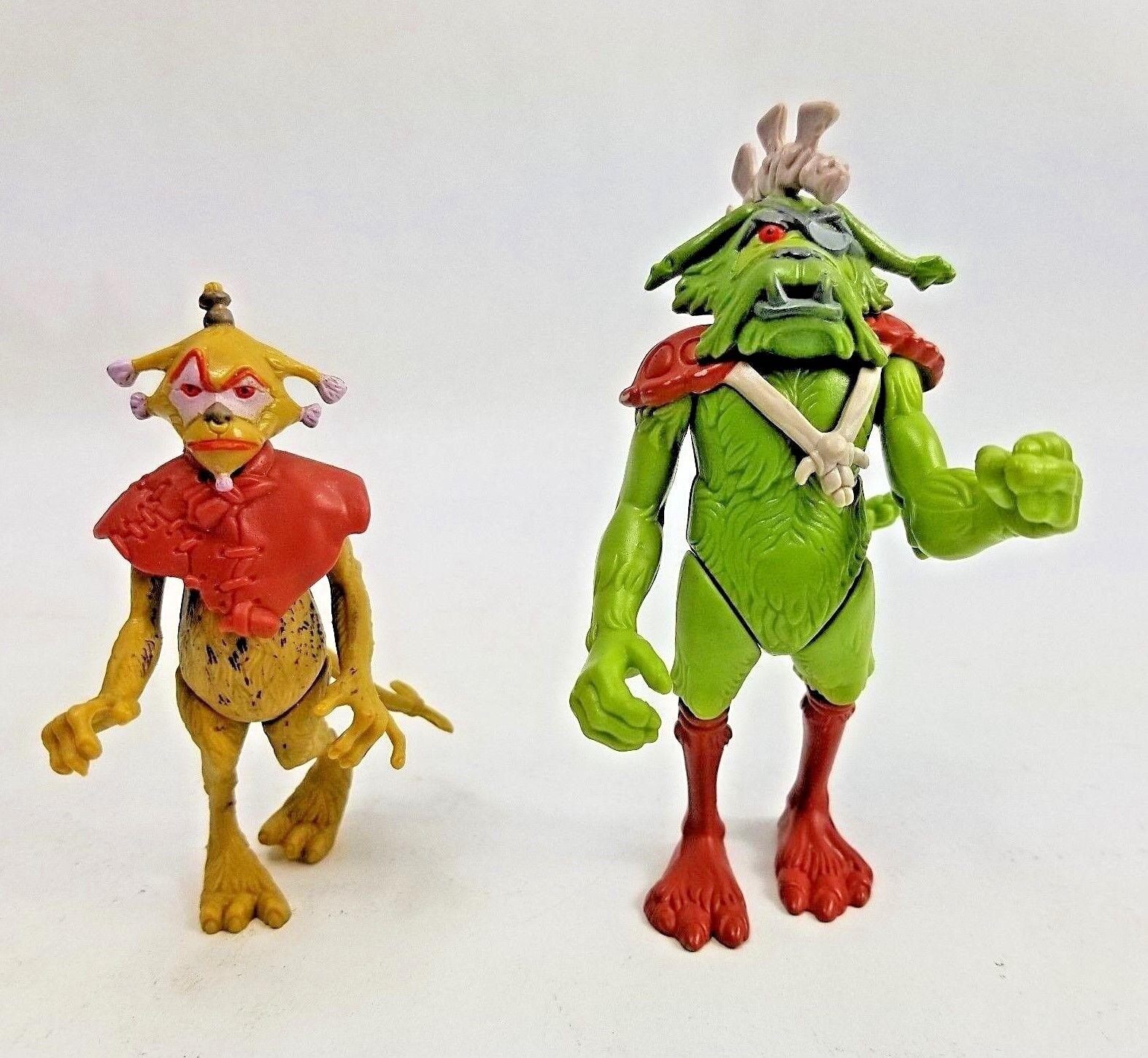 Urgah Lady gorneesh y Rey gorneesh 1985 figuras de serie cómica Ewoks
