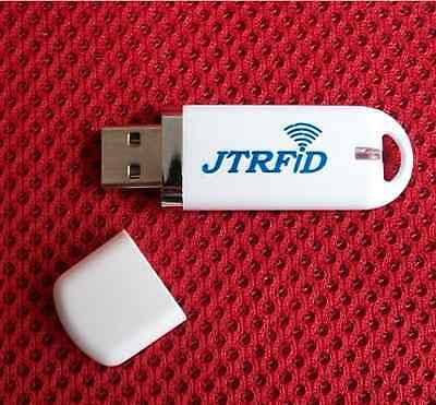 Thin RFID 13.56Mhz Mifare ISO14443A Reader USB With TAG For Android Mac OS Linux