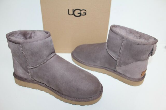 dc12295e58b UGG Australia 1016222 SYGR 8 Classic Mini II Suede Sheepskin Boots Shoes  Grey 8