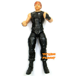 WWE-The-Shield-Dean-Ambrose-Elite-Wrestling-Action-Figure-Kid-Child-Toy-Mattel