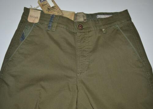 Stretch Piquet Homme 56 46 Lavé 54 Pantalon Mince 52 50 Coton Vert 48 z8YSq