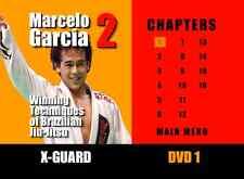 Marcelo Garcia Series 2 : Brazilian Jiu-Jitsu New DVDs!