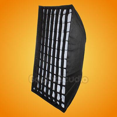 "Godox 32""x 47"" 80x120cm Honeycomb Grid Softbox Elinchrom / Calumet Genesis Mount"