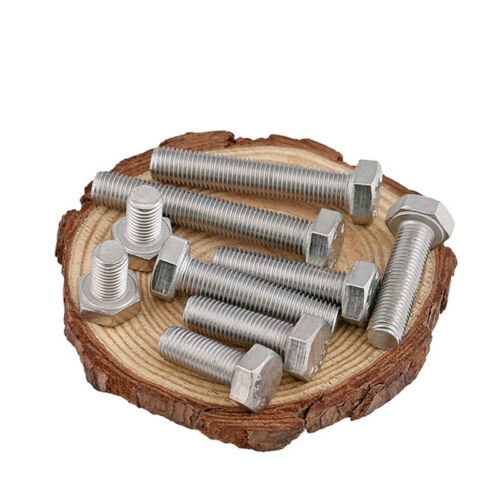 Fine Thread Hexagon Head Screws A2 Stainless Steel M12 Hex Bolts Fastener