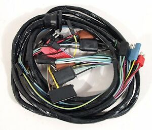 image is loading 1965-ford-mustang-headlight-wiring-harness-from-firewall-