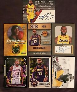 Lebron-James-Card-Collection-AWESOME-SET-Lakers
