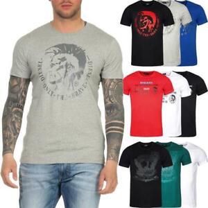 DIESEL Herren T-Shirt Mohawk Slim Tee Rundhals Kurzarm Shirt