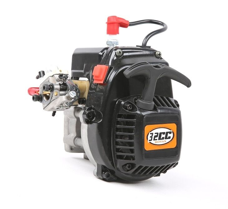 Rovan R320 32CC 4 bolts gasoline engine with standard easy pull start 1/5 rc car