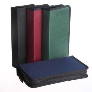 Multi Colors 80x Disc CD DVD Portable Storage Case Wallet Hard Box Bag