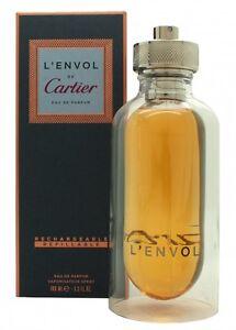 About Edp Eau Details Men's Cartier Parfum Refillable L'envol 100ml De Spray hCstQrdx