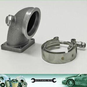 Anschluss-Downpipe-Fiat-Coupe-16V-Turbo-Lancia-Delta-Integrale-2-0L-16V-8V