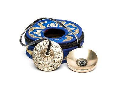 Dragon Embossed Tibetan Yoga Meditation Cymbals Bell Dharma Store Original Version