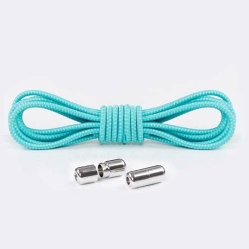 Elastic Shoe Laces Strings Adult Kids Shoelaces No Tie Locking Round Sneakers