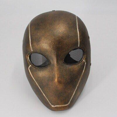 Batman Red Hood Resin Mask Helmet Halloween Cosplay Props Resident Evil Mask