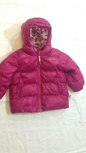Quechua-Giubbotto-colore-rosa-scuro-con-cappuccio-9-12-mesi-USATO