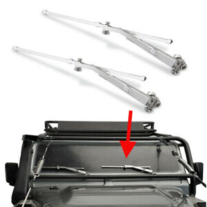 Metel-RC-Accessories-Windscreen-Windshield-Wiper-Set-for-1-10-Crawler-Truck-Body