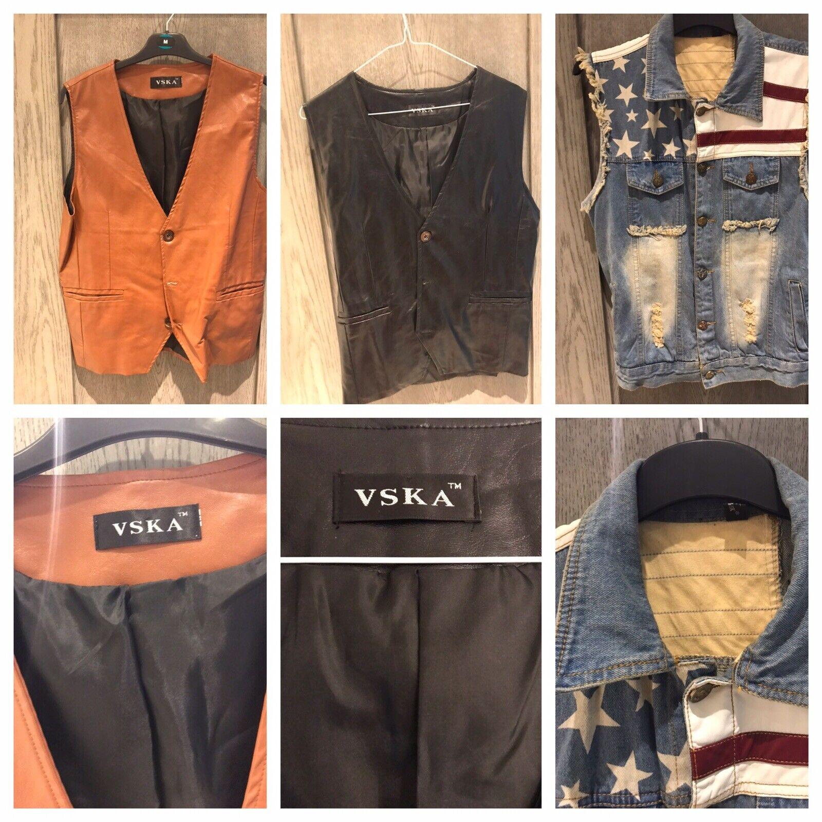 X3 mens waistcoats Medium Size  For All