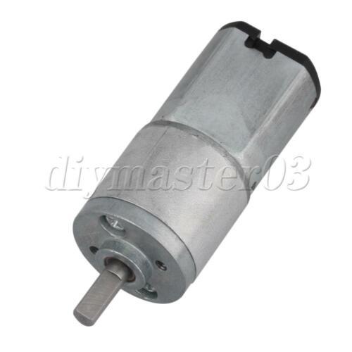 16GA 12V 200U//min 2 Terminals Drehmoment Elektrisch Ermäßigung Getriebemotor