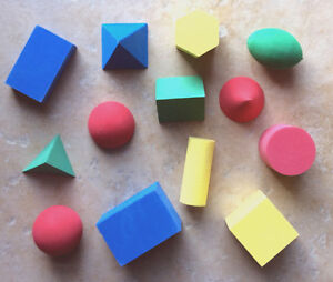 GEOMETRIC-SOLIDS-QUIETLITE-Classroom-Products-Quiet-Foam13Set-Learning-Resources