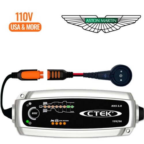 Aston Martin Vantage 2019 /& Newer Battery Charger Trickle Charger