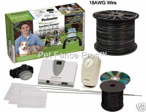 Perimeter® ProGrade Ultra Comfort Contact Dog Fence 2P