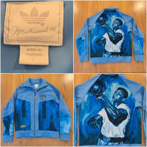 Vintage Addidas Muhamed Ali Jacket Size Men's Larg