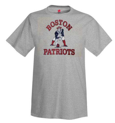 Football NFL New England Boston Patriots Men/'s T-Shirt ------------- Retro