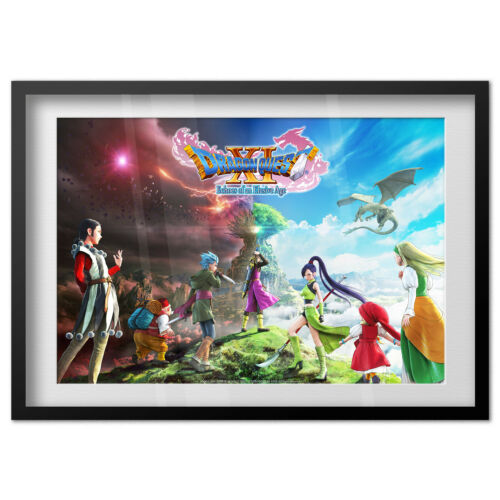 Dragon Quest XI Echoes of an Elusive Age Poster High Quality Prints Box Art