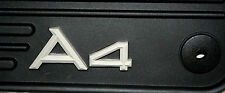 2003 TO 2008 Audi A4 Sedan/Wagon Factory Accessory Rubber Floor Mats - Set of 4