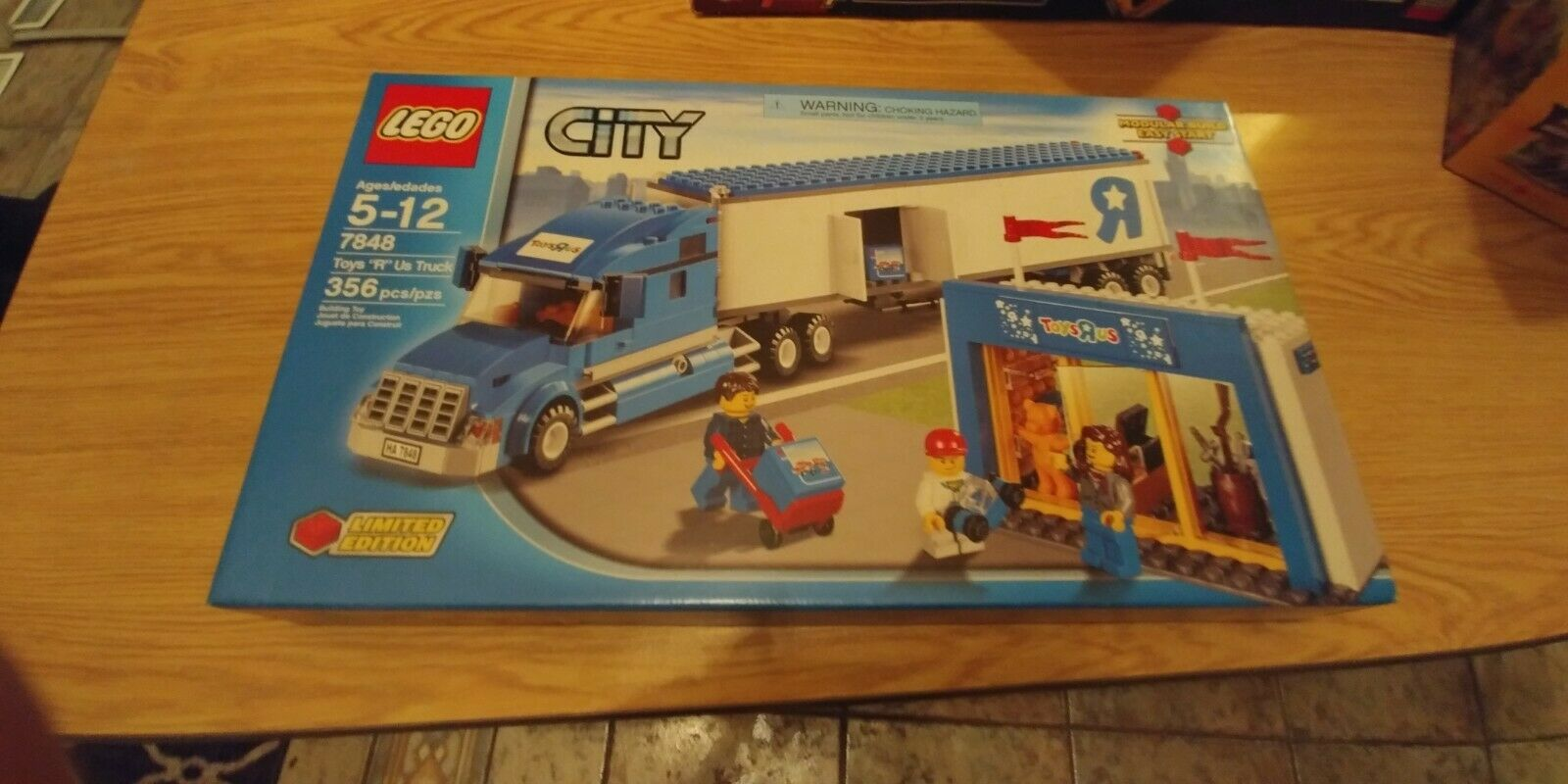 Lego City Toys R Us Truck 7848 For Sale Online Ebay